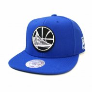 Golden State Warriors Black and White Team Base Snapback...