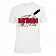 Hirntot Records Messer T-Shirt
