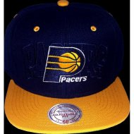 Indiana Pacers Snapback Outer Logo | NBA | Mitchell &...