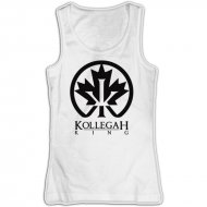 Kollegah Logo King Ahorn Tank Top Weiss