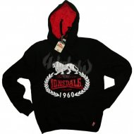 Lonsdale Slim Fit Hooded Sweater Darnell