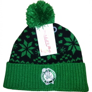 Mitchell & Ness - Boston Celtics Beanie black/green