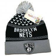 Mitchell & Ness - Brooklyn Nets Beanie black/white/grey
