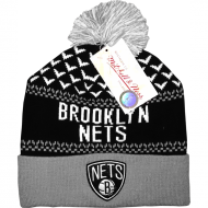 Mitchell & Ness - Brooklyn Nets black/grey/white