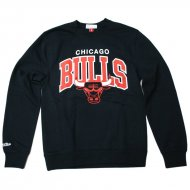 Mitchell & Ness - Chicago Bulls Team Arch Crewneck...