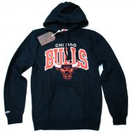 Mitchell & Ness - Chicago Bulls Team Arch Hoodie schwarz