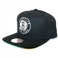 Mitchell & Ness - Snapback Cap Brooklyn Nets Wool Solid