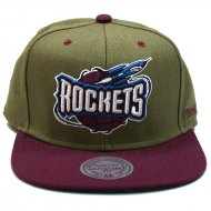 Mitchell & Ness - Snapback Cap Houston Rockets Dual