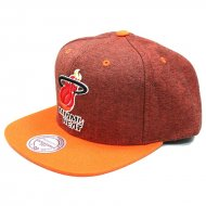 Mitchell & Ness - Snapback Cap Miami Heat Denim Harry