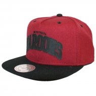 Mitchell & Ness - Snapback Cap Montreal Maroons Alley...