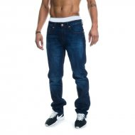 Rocawear Jeans Relaxed Fit - Leather Patch mid blue