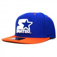 Starter - Snapback Cap Icon 3Tone SB royal/orange