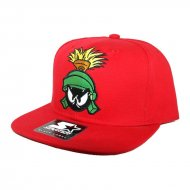 Starter X Looney Tunes Marvin the Martian Snapback Red