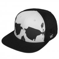 Thug Life Snapback Cap Scully in schwarz