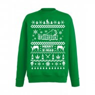 Trailerpark Sweater XMAS\'16 grün