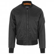 Urban Classics - Basic Bomber Leather Imitation Sleeve...