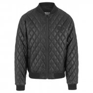 Urban Classics - Diamond Quilt Leather Imitation Jacket...