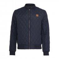 Urban Classics - Diamond Quilt Nylon Jacket navy
