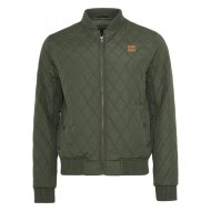 Urban Classics - Diamond Quilt Nylon Jacket olive