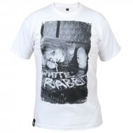 White Rabbit T-Shirt White Line wei�