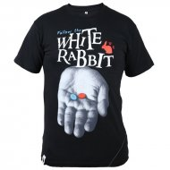 White Rabbit T-Shirt XTC schwarz