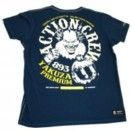 Yakuza Premium Action Crew T-Shirt navy
