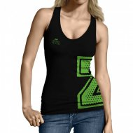 Zec+ Athletic Tanktop Schwarz Lady