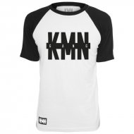 KMN Gang T-Shirt Contrast black/white