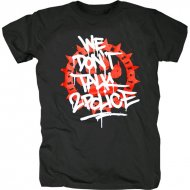 187 Strassenbande - We dont talk to Police T-Shirt schwarz