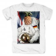 257ers T-Shirt Captain Spaceapple weiß