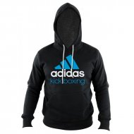 Adidas Community Hoodie Kick Boxing black/solarblue