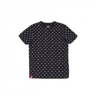 Alpha Industries Alpha Allover T-Shirt schwarz