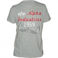 Alpha Industries - Alpha Industries T-Shirt grau