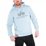 Alpha Industries Basic Hoodie air blue