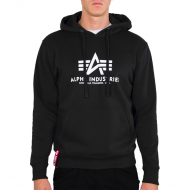 Alpha Industries Basic Hoodie black