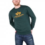 Alpha Industries Basic Sweater dark petrol