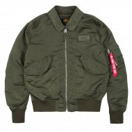 Alpha Industries Bomberjacke CWU LW PM dark green