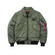Alpha Industries Bomberjacke CWU VF BL sage-green