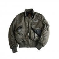 Alpha Industries Bomberjacke Engine rep.grey