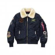 Alpha Industries Bomberjacke Injector III Patch rep.blue