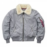 Alpha Industries - Injector III Fliegerjacke silver