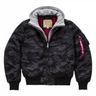 Alpha Industries Bomberjacke MA-1 D-Tec Black Camo