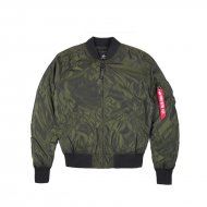 Alpha Industries Bomberjacke MA-1 LW Iridium dark green