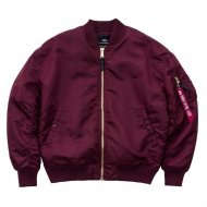 Alpha Industries Bomberjacke MA-1 OSPM burgundy