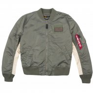 Alpha Industries Bomberjacke MA-1 TT Custom vintage green