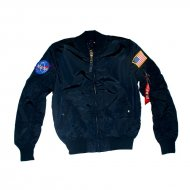 Alpha Industries Bomberjacke MA-1 TT NASA Reversible rep....