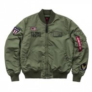 Alpha Industries Bomberjacke MA-1 VF Flying Tigers