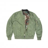 Alpha Industries Bomberjacke MA-1 VF LW Reversible sage...
