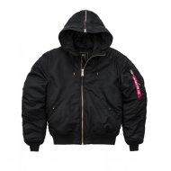 Alpha Industries Bomberjacke N2-B VF PM black/copper