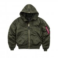 Alpha Industries Bomberjacke N2-B VF PM dark green